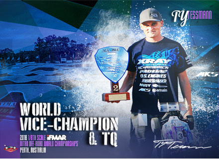 Congrats team Ty Tessmann's great job at 2018 Worlds!!