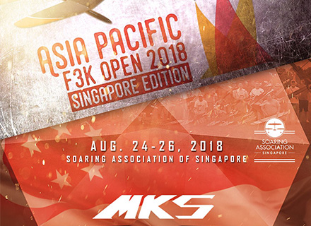 MKS is honored to support 2018 Asia-Pacific F3K Open!