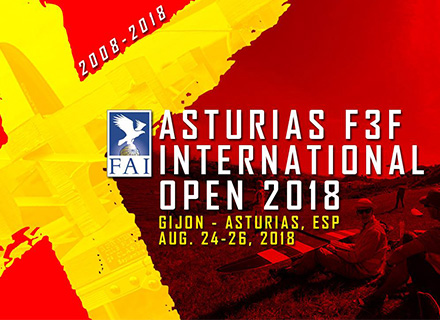 MKS is honored to support X Asturias F3F Open - FAI World Cup!